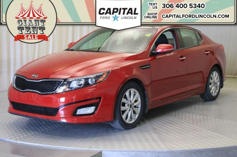Pre-Owned 2015 Kia Optima EX | Leather |