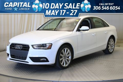 Pre-Owned 2014 Audi A4 Komfort **New Arrival**